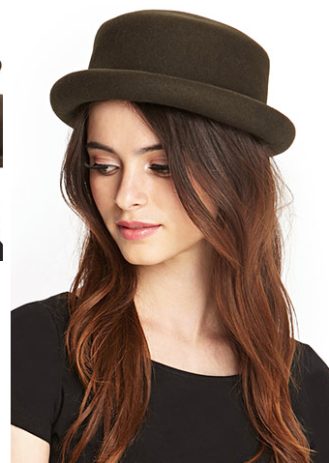Wool Bowler Hat // Forever21